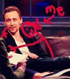 Have you seen the picture off Tom Hoddlesypn and me together ?
