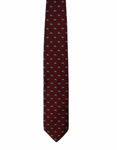Brighton Clothes Shop Chicago Vintage Mens Maroon Dress Neck Necktie Tie 56in #Brighton #Tie