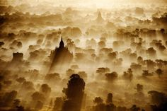 Sunrise over the ancient city of Bagan - Myanmar