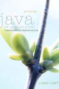 John Lewis - 133594955 - Java Software Solutions (8th Edition) - http://lowpricebooks.co/133594955-java-software-solutions-8th-edition/