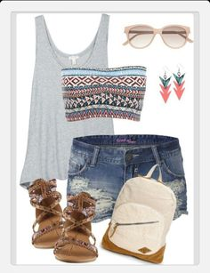 In love. Summer outfits♡