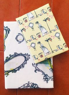 Cool fabrics for notebooks!!