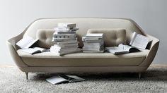 Canapé droit Favn / L 221 cm