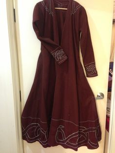 Norse coat - this looks like an embroidery project I might be able to do.