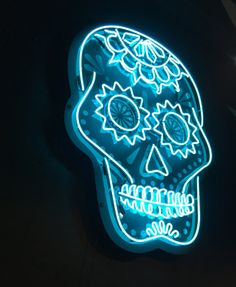 Neon signs are making their way from the walls of backstreet Vegas tattoo shops, and coming to a home near you! Blue Aesthetic Pastel, Neon Aesthetic, Vegas Tattoo, Aesthetic Objects, Neon Noir, All Of The Lights, Neon Nights, Neon Light Signs, Luz Led