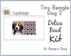 Available choices: - (Pattern only) PDF pattern will be e-mailed to you. ~Please allow me a little time to e-mail the pattern to you. Thanks. ~ - (Kit - Beads only) Comes with delica beads and PDF pattern. - (Kit + Needles & Thread) Comes with delica beads, needles, thread and PDF pattern.  Pattern Details: Even count peyote 9 pages, 3 without wordchart 17 colors 4.20 x 2.27 inches, front and back (2.10 x 2.27 when folded in half) Clear Color Graph Wordchart pattern Beadscape realistic pr...
