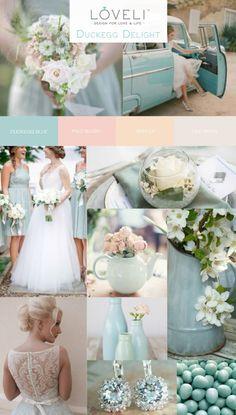 Duckegg Blue Wedding Inspiration - LoveLi