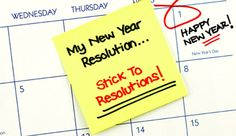 Resolutions you'll WANT to keep...and how to make them happen.