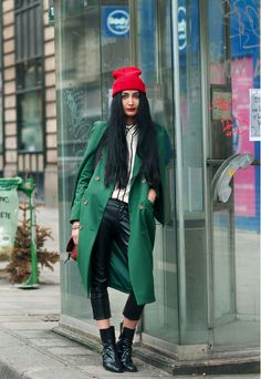 NADIA SARWAR from frou frouu. Red hat