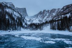 A short evening walk to Dream Lake in Rocky Mountain National...