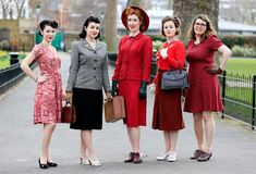 What we'd have been wearing during rationing in 1940s Britain - BT
