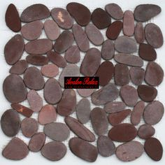 Irregular Stones. Red. Only Euro 18/sheets. Http://www
