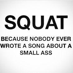 My butt's sore :( haha
