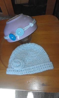 cappello uncinetto bambina, by bandullera, 7,00 € su misshobby.com