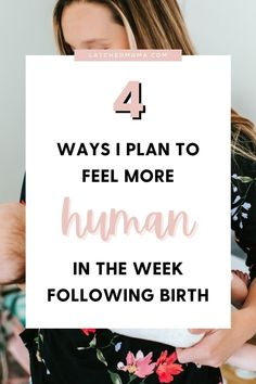 """That first week postpartum I had never felt less """"human"""" in my life. Here are 4 ways I plan to feel more """"human"""" in the week following birth! Stopping Breastfeeding, Breastfeeding And Pumping, Postpartum Recovery, Postpartum Care, Child Nursing, Body After Baby, Feeling Exhausted, Nursing Tips, Breast Feeding"""