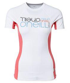 UV-Shirt / Surf-Shirt PW Logo Skins S/S by O'Neill  #surfing #beach #women