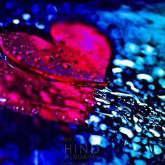 blue, heart, hot pink