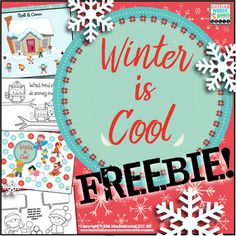 Please enjoy this little winter themed freebie from me to you! This 7 page download includes...1)  a roll and cover game to be used with 2 dice.  After students perform a task (articulation drill, fluency practice, sight word drill, answering questions.