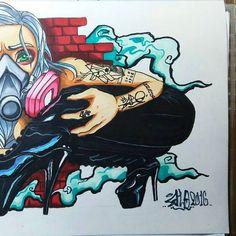 Shhhhh #graffiti #graffitiart