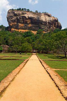Sigiriya - The Lions Rock - Dambulla, Sri Lanka