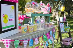 CUTE cute cute Easter Egg Hunt party & ideas from @Lauren McKinsey