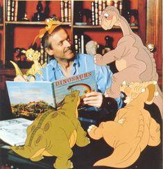 Don Bluth et les personnages de Petit Pied le dinosaure latest 988×1024 pixels