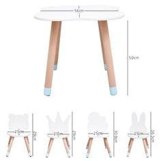 kids furniture Wooden Kids Table and Chairs Set - Minime Mini Me Ltd Kids Bedroom Furniture, Simple Furniture, Inexpensive Furniture, Deco Furniture, Table Furniture, Furniture Design, Rustic Furniture, Upcycled Furniture, Furniture For Kids
