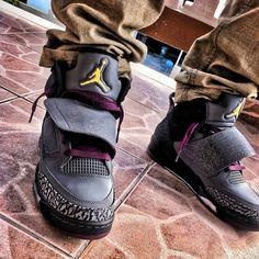 Air Jordan Son Of Mars Bordeaux