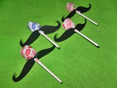 Megan Omans- what do you think of these? Mustache Party Favors, Mustache Birthday, Baby Girl First Birthday, Bday Girl, Tea Party Birthday, First Birthday Parties, Birthday Party Themes, Mustache Crafts, Birthday Ideas