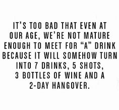 😏When my friends and I leave our busy lives for a day to reunite lol 🤷🏻‍♀️ Hangover Humor, Hangover Quotes, Alcohol Quotes, Alcohol Humor, Drinking Memes, Friends Drinking Quotes, Drunk Friends, Drunk Humor, In Vino Veritas