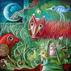 leszek kostuj art | Leszek Kostuj, paintings - ego-alterego.com