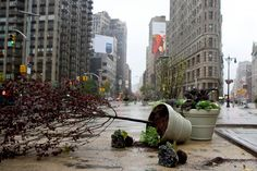 Madison Square Park just before the lights went out #sandy