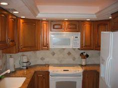 Kitchen Ideas With White Appliances kitchen ideas : decorating with white appliances / painted