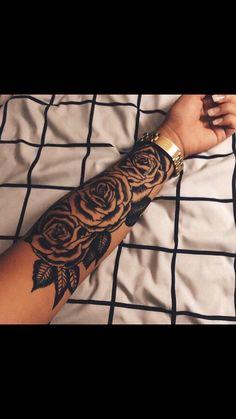 Forearm roses