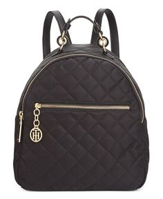 2351341640fb56 Tommy Hilfiger Isabella Quilted Nylon Dome Backpack, Created for Macy's &  Reviews - Handbags & Accessories - Macy's
