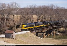 RailPictures.Net Photo: PREX 1752 Keokuk Junction Railway EMD FP9 at Seville, Illinois by Steve Smedley