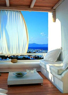 Decorating in the Greek Mediterranean Style    Capture the feel of a sun-drenched vacation with Greek Mediterranean decorating.