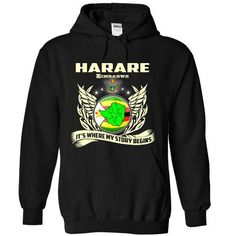 Harare- My story begins - #cute shirt #hoodie jacket. LOWEST PRICE => https://www.sunfrog.com/States/Harare-My-story-begins-8950-Black-Hoodie.html?68278