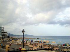 Praia bem organizada...