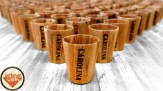 Watch Jackman Works create not one but 100 wood shot glasses!