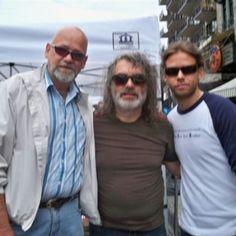 Avec Pagliaro suite à son spectacle rue Crescent à Montréal.