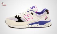New Balance , Baskets pour homme Blanc/mauve FR:42 Blanc/mauve - Chaussures new balance (*Partner-Link)