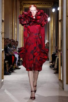 Giambattista Valli Haute Couture Fall 2012 collection.