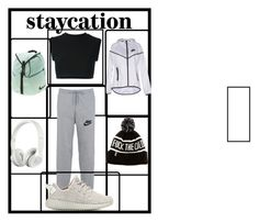 """""""Cozy Style"""" by princess-erika15 ❤ liked on Polyvore featuring NIKE, adidas Originals, Beats by Dr. Dre, women's clothing, women's fashion, women, female, woman, misses and juniors"""