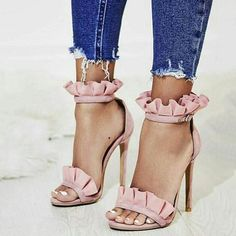 Careful Kcenid Gladiator Sandals Women Peep Toe Footwear Buckle Strap High Heels Sandals Female Snake Print Shoes Summer Plus Size 34-43 Clients First Women's Shoes