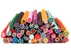 Fimo nail art designs