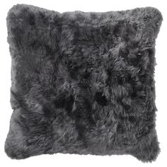 IKEA - EVALINN, Cushion cover, sheepskin dark gray, Wool is stain-repellent, durable and provides good insulation. The zipper makes the cover easy to remove. Best Insulation, Ikea Us, Design Your Life, Cushion Covers, Home Furnishings, Cushions, Throw Pillows, Inspiration, Furniture