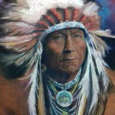 Native American in soft pastels 56 x 66 cm Soft Pastels, Nativity, Native American, Class 8, Princess Zelda, Painting, Indian, Fictional Characters, Art