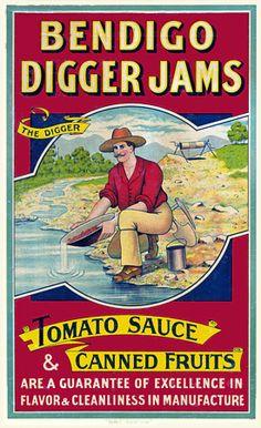 Bendigo Digger Jams  c. 1890