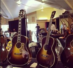 Fairbanks guitars at SBAIC, Santa Barbara, California